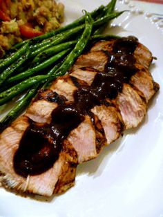 Thanksgiving in August: Grilled Turkey with a Balsamic BBQ Sauce