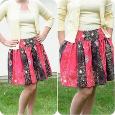 Make the Zak Skirt for yourself this #mothersday #treatyoself