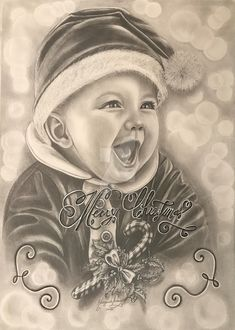 Joy to the World by DaisyPearl7 #alegria #baby #beauty #bebé #beleza #carvão #child #childhood #christmas #criança #drawing #emoção #emotion #fascination #felicidade #festa #festive #flocos #grafite #handmade #hiper #infância #joy #magia #magic #merrychristmas #miracle #natal #neve #pencil #pencildrawing #portrait #realista #realistic #realisticdrawing #retrato #snow #snowflake #festividades #grafhite #fascinação #hiperrealista #daisypearl7 Joy To The World, E Motion, Social Community, Worlds Largest, Deviantart, Drawing, Painting, Inspiration, Sketches