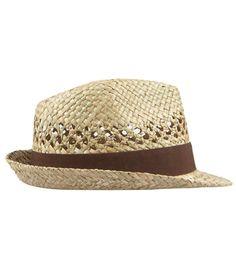 2fbd0136973 AllSaints Spitalfields - rush straw hat Straw Fedora