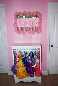 Princess Dress Storage