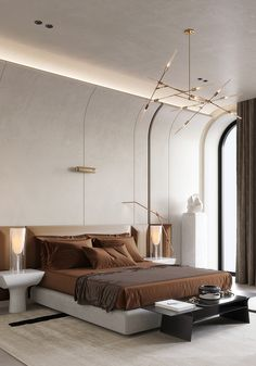 Master Bedroom Interior, Luxury Bedroom Design, Luxury Interior, Home Bedroom, Modern Bedroom, Bedroom Decor, Hotel Room Design, Interior Design Inspiration, Home Interior Design