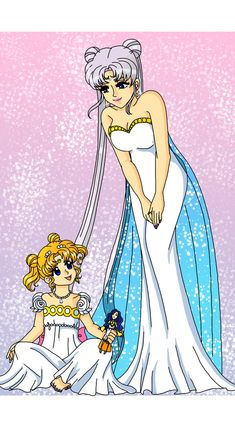 Moon - Queen and Princess