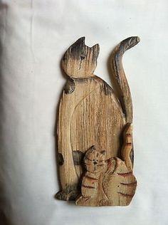 Деревянный орнамент Cat (10/19/2013)