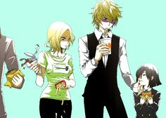 Shizuo and Akane! CuTe :D ....oh yeah and vorona