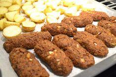 Vegaaniset kebakot Vegan Baking, Almond, Vegan Recipes, Cookies, Desserts, Drinks, Food, Crack Crackers, Tailgate Desserts