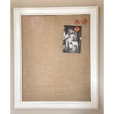 unusual design magnetic bulletin board. Cherry Tree Gallerys rustic magnetic bulletin board is covered with burlap  and framed a Decorative 21 x 27 magnet designer