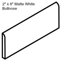http://www.discountglasstilestore.com/bullnose-2-x-8-matte-white/
