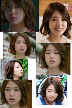 Park Shin Hye Heartstrings her hair in this  one
