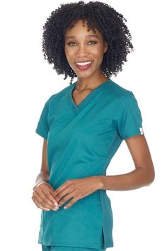 Treat yourself to the superior comfort and style of the Cherokee Workwear Revolution Tech V-neck Scrub Top! Cherokee Scrubs, Storage Room, Scrub Tops, Workwear, V Neck Tops, Stretch Fabric, Revolution, Flexibility, Instruments
