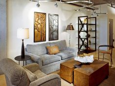 Get tips from the experts at HGTV.com for choosing the right table and floor lamps to suit both your lighting needs and your taste in home decor.