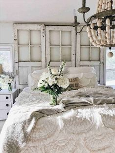 Shabby Chic Metal Headboard White Cottage Farm One Year Anniversary  Progress Update Coastal Chic Shabby Chic White Metal Headboard