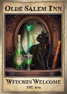 Lisa Parker, Halloween Pictures, Halloween 2, Gothic Art, Dark Gothic, Disney Background, Black Cat Art, Wiccan Witch, Witch Cat