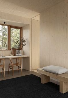A Beautiful, Simple And Sustainable Wooden Home In Sweden - Nordic Design Interior Rugs, Interior Design, Nordic Design, Classic House, Eclectic Decor, First Home, Office Interiors, Home Fashion, Decoration