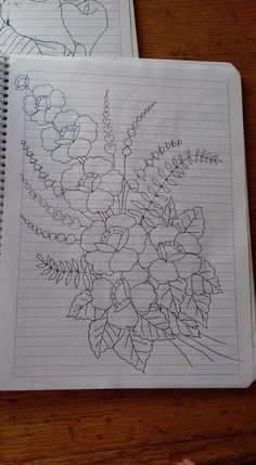 Hand Embroidery Design Patterns, Cutwork Embroidery, Hand Embroidery Videos, Embroidery Flowers Pattern, Hand Embroidery Stitches, Embroidery Techniques, Machine Embroidery Designs, Fabric Painting On Clothes, Wreath Drawing