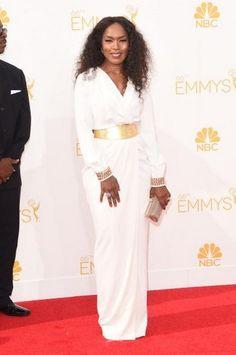 Modest Fashion at the 2014 Emmy Awards: Angela Bassett