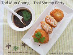 DreamersLoft: Thai Shrimp Patty (Tod Mun Goong) - AFF Thailand Nov 2013