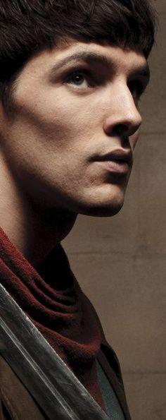 Colin Morgan (and his awesome cheekbones)