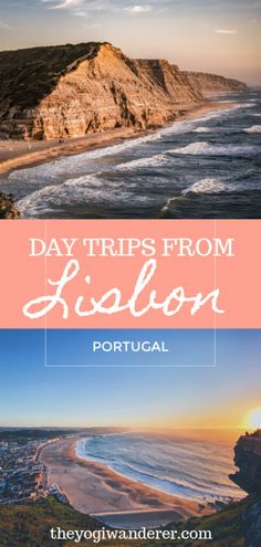 The best day trips from Lisbon, Portugal, including Sintra, Cascais, Óbidos, Ericeira, Nazaré, Peniche, Coimbra, and much more. #Lisbon #Portugal #traveltips #daytripsfromLisbon #daytrips #Portugaltravel #Europetrip Portugal Destinations, Portugal Travel Guide, Europe Travel Guide, Europe Destinations, Travelling Europe, Traveling, New Travel, Future Travel, Work Travel