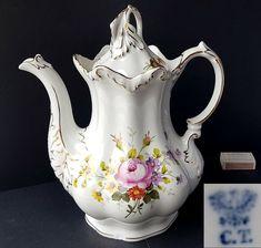 Teller Set, Tea Pots, Hand Painted, Ebay, Tableware, Costume, China, Antigua, Crystal