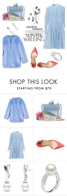 """""""something blue"""" by keepitrealforme ❤ liked on Polyvore featuring THP, Sophia Webster, Topshop Unique and Jessica Simpson"""