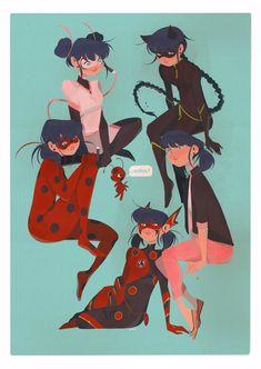 Miraculous Ladybug Fanfiction, Miraculous Characters, Miraculous Ladybug Fan Art, Meraculous Ladybug, Ladybug Comics, Character Art, Character Design, Miraculous Ladybug Wallpaper, Cat Noir