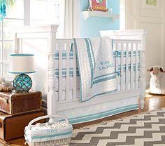 Harper Nursery Bedding Set #PotteryBarnKids