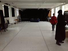 Rehearsal space #BirminghamREP #Fades new writing