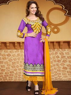 Buy cotton salwar kameez online from Kalazone Silk Mill.