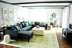 Pretty living room | Young House Love