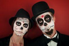Algunas ideas para disfraces familiares de Día de Muertos y Halloween (FOTOS)