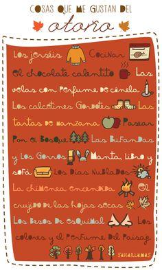 A1 - ¿Y a vosotros? ¿Qué os gusta del otoño? [Imagen de El Blog de Sarai Llamas.]
