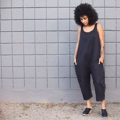 @lottafromstockholm clogs with @ilanakohn jumpsuit from @olive_austin
