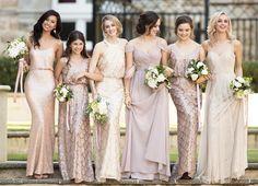 859195e9d26 24 Best Sequin Bridesmaid Dresses