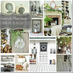 Giveaway: Creatively Made Home E-Course {for the Holidays}  Come enter for a chance to win the best Homemaking e-courses you've EVER seen.