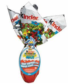 A BIG Kinder Surprise for the basket! Easter Baskets, My Favorite Things, Cool Stuff, Big, Food, Essen, Meals, Yemek, Eten