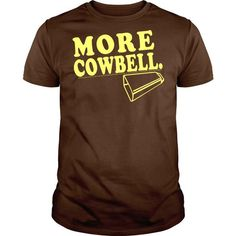 Cowbell T Shirts, Hoodies. Check price ==► https://www.sunfrog.com/TV-Shows/Cowbell.html?41382