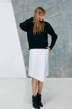 Boxy is a good thing with the latest from Tibi
