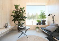 Wabi Sabi, Polished Concrete Tiles, Scandi Style, Interiores Design, New Homes, Room Decor, Cottage, Living Room, Furniture