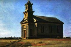 Edward Hopper - South Truro Church