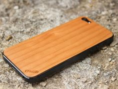 <Cherry (チェリー) for iPhone 5>100%天然のチェリーから作られています。 #iphone #tech #case #skin #accessory #fashion #geek #sexy #apple #technology #products #design #wood