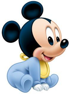 Baby Mickey Sit …