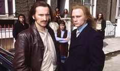 Christopher Eccleston and Daniel Craig in Our Friends in the North.