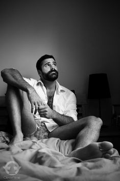 Meet The Tumblr Fellas: More of Christopher Camplin in bed - Model from London and frontend developer Scruff Scruff & Beards   Twitter