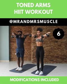 Workout Challenge Discover Upper Body Workout - HIIT Lower body exercise with weights. The best exercise to add to your HIIT workout routine to strengthen and tone your muscles. Upper Body Hiit Workouts, Full Body Hiit Workout, Hiit Workout At Home, Gym Workout Videos, Fitness Workout For Women, Fitness Routines, Dumbbell Workout, Body Fitness, Ab Workouts