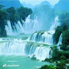 Ban Gioc–Detian Falls - between China and Vietnam