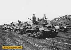 Turan 40.M. column. Defence Force, Ww2 Tanks, Military Vehicles, Wwii, Army, History, Tanks, Military Photos, Hungary