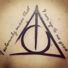 Deathly Hallows Tattoo. i will be getting some sort of Harry Potter Tattoo