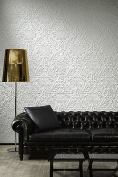 behang arte charm eclipse behangpapier collectie luxury by nature Damask Wallpaper, Wall Wallpaper, Arte Wallcovering, Mark Alexander, Deco Nature, Casamance, Contemporary Wallpaper, Wall Finishes, Paper Texture