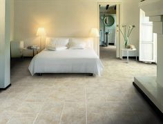 The typical effects and multicoloured characteristics of slate  have been faithfully reproduced in RIVERSTONE, a Ragno USA  glazed porcelain tile. Available in seven warm, natural colours  in a variety of interesting sizes, this line is suitable for  all residential and medium-to-high traffic commercial  applications.